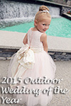 2015 Outdoor Wedding/Flower Girl Dress of the Year