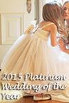 Platinum Flower Girl Dress/Wedding of the Year 2015