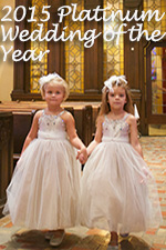 Platinum Flower Girl Dress/Wedding of the Year 2015