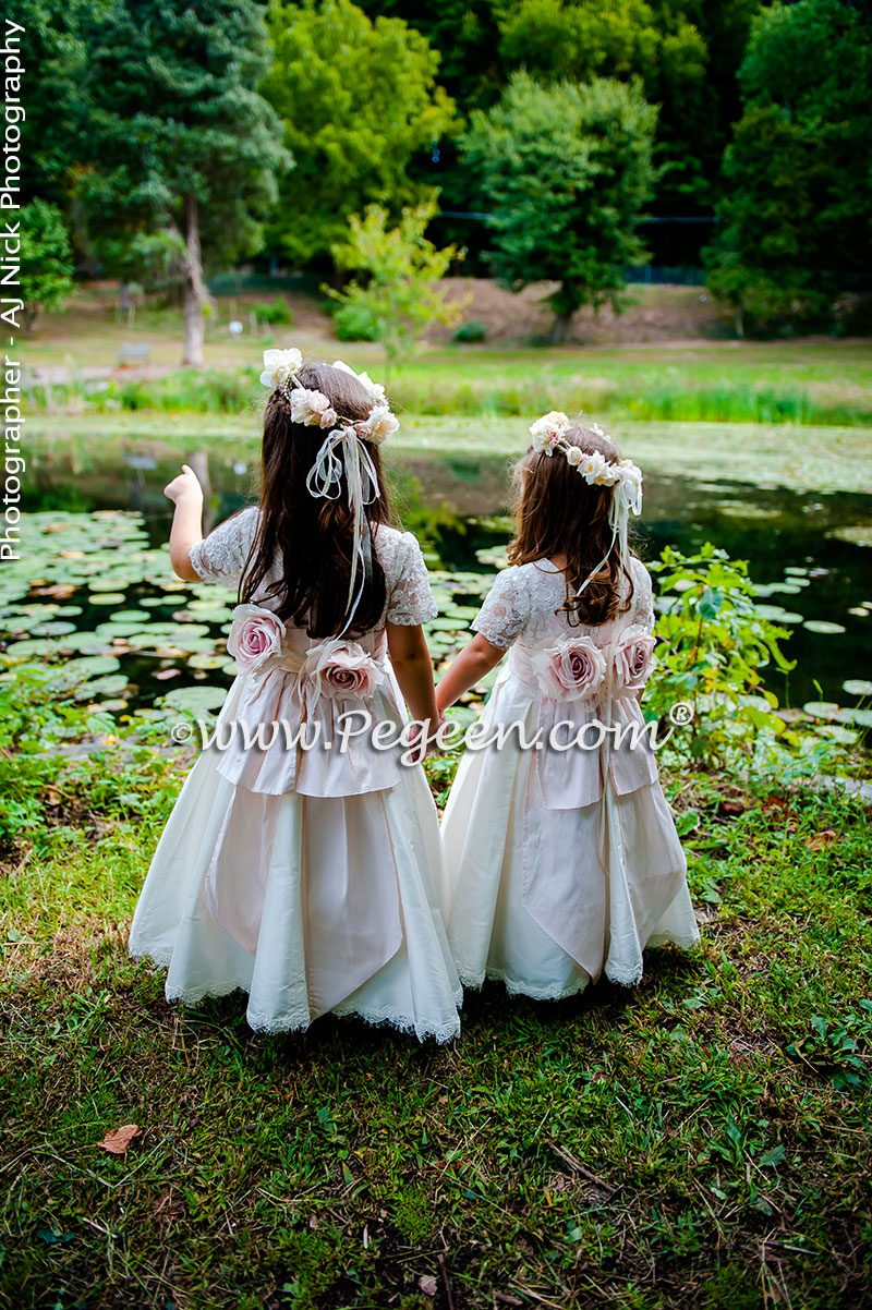2016 garden wedding flower girl dresses of the year pegeen for Girls dresses for a wedding