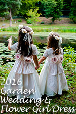 2016 Garden Flower Girl Dress/Wedding of the Year