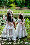 2016 Garden Wedding/Flower Girl Dress of the Year