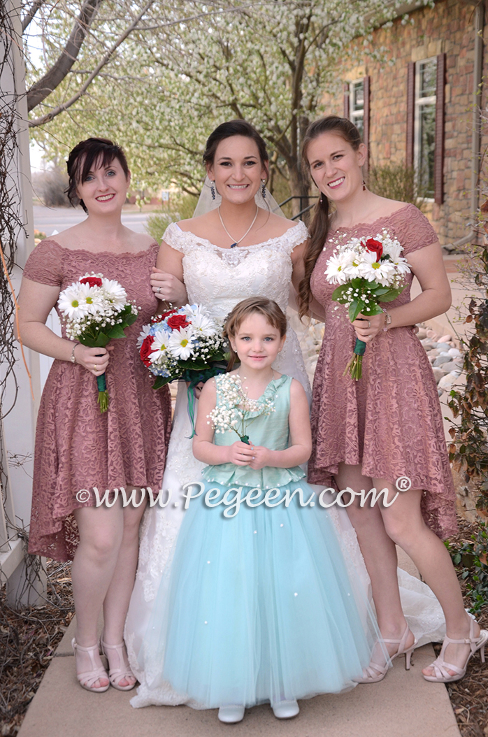2017 Intimate Family Wedding & Flower Girl Dress of the Year