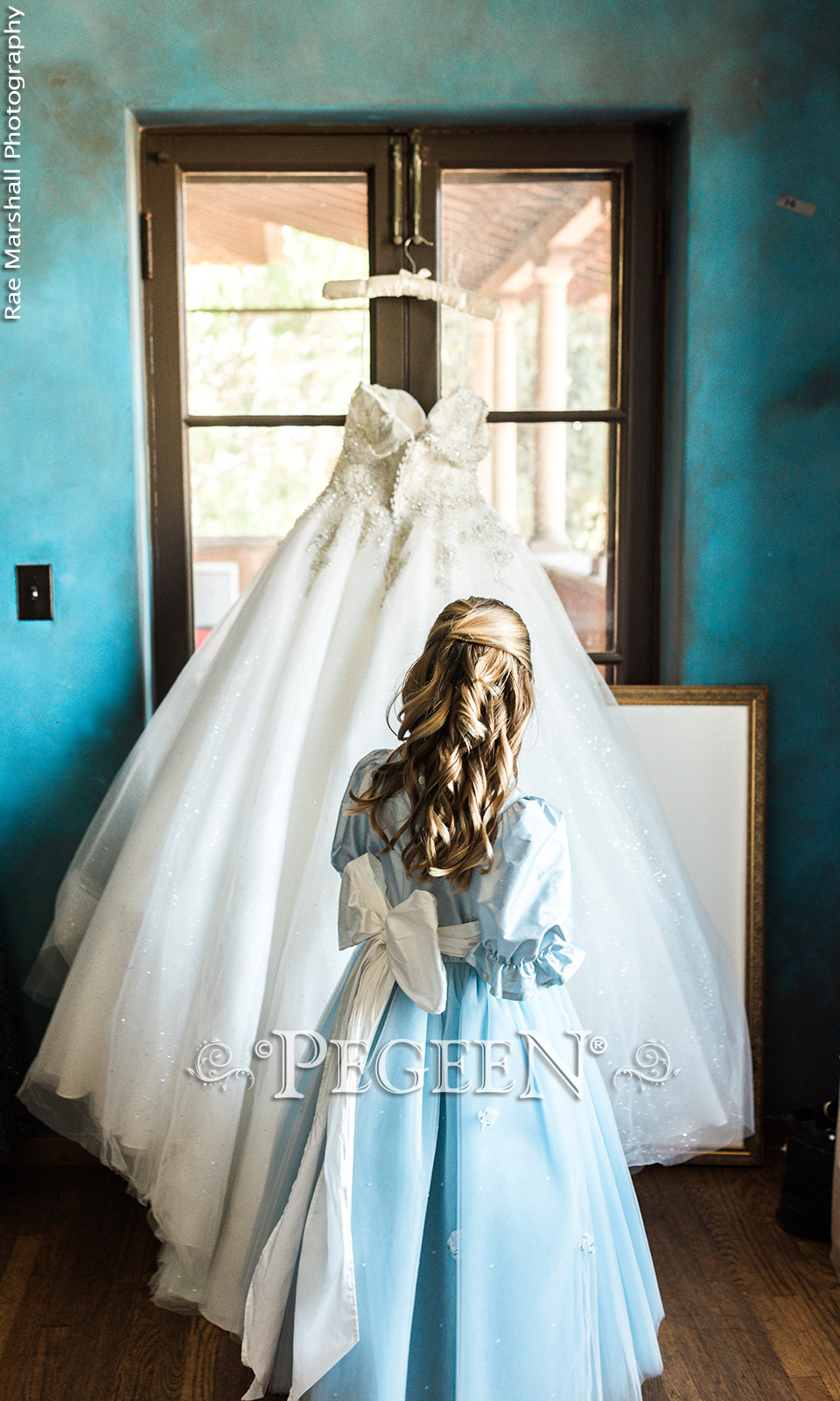 Blue Flower Girl Dress of the Year