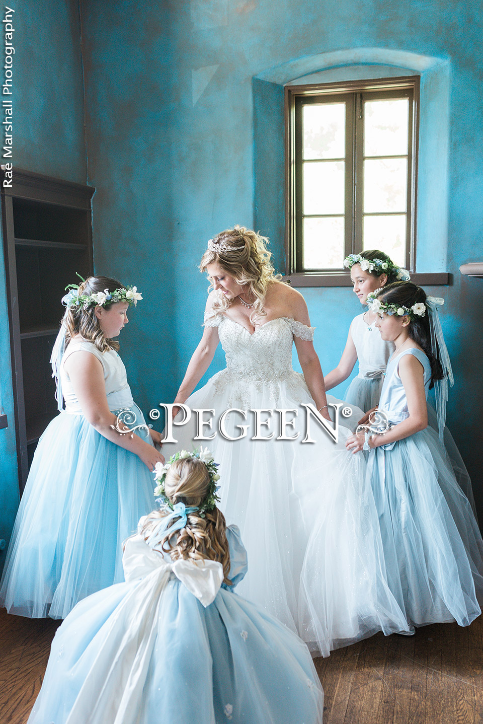 Blue Flower Girl Dress of the Year - Jr Bridesmaids Dresses