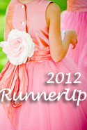 Coral Rose Flower Girl Dresses of the Year Runner Up 2012
