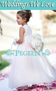 Flower Girl Dresses & Weddings We Love